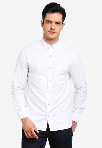 MANGO Man white Regular-Fit Cotton Shirt 250BEAA97E7BD0GS_1