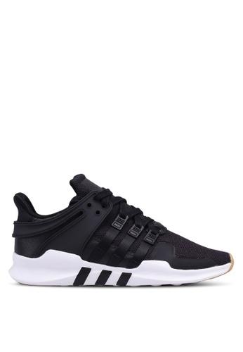 adidas black adidas originals eqt support adv 1BDF7SH133744FGS_1