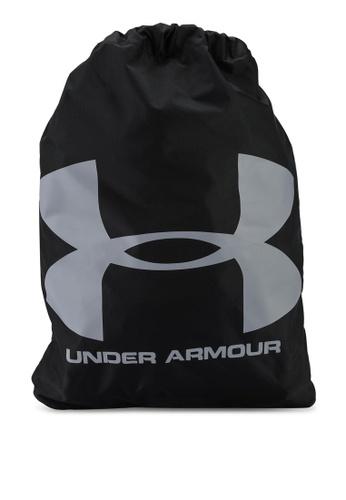 Under Armour black Ozsee Sackpack DF4FDACA5604F8GS_1