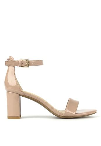 Betts pink Seduce Low Block Heels 7A0E9SH7423622GS_1