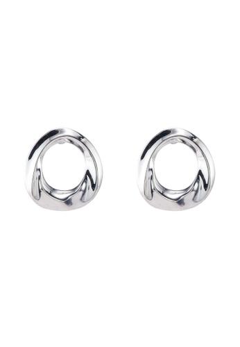 River Island silver Colour Ring Earrings A5003AC87C12EAGS_1