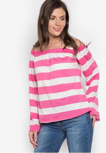 Verve Street pink Lain Long Sleeves Top VE915AA12ATVPH_1