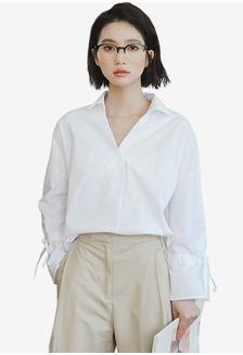 Shopsfashion Tie A Bow Shirt Rp 339.000 ... c32fefac2a