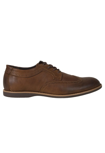 Tomaz brown Tomaz C364 Casual Wingtip Brogues (Brown) 2BA3FSHC1F80B9GS_1