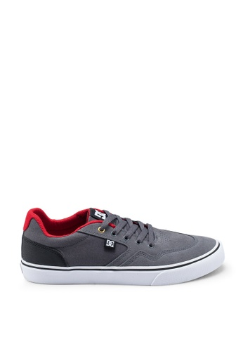 DC Shoes grey Rowlan Sd Shoes 9E3F1SHB75DDEDGS_1