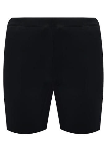 Funfit 黑色 雙色四角泳褲 4A581AA8965EE0GS_1