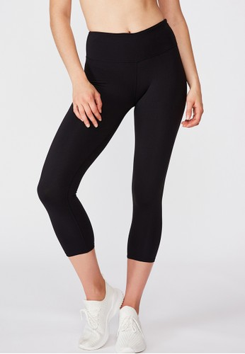 Cotton On Body black Active Core 7/8 Tight ABDE9AABE1F97DGS_1