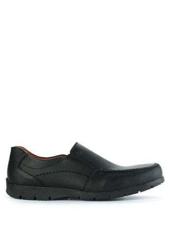 Watchout! Shoes black Casual Loafer B327ASH58E09FAGS_1