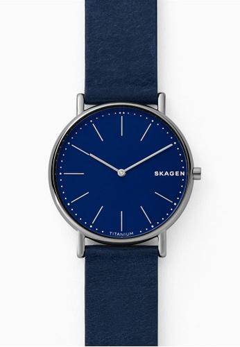 Skagen blue Signatur Analog Watch SKW6481 62E9EAC8CD0A2BGS_1