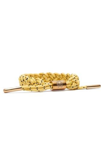Rastaclat yellow Rastaclat Classic Bracelet: Bollard RA286AC2UMNTHK_1