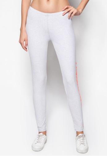 esprit outlet 台灣品牌標誌高腰內搭褲, 服飾, 服飾