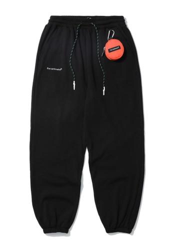 Fivecm black Keyring pouch sweatpants A5C19AA2760FE4GS_1