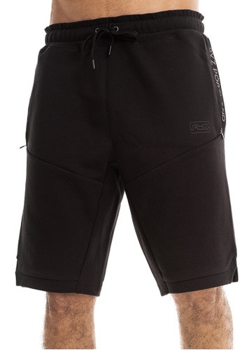RYZ black RYZ Signature Mobility Black Shorts 3.0. D3DBAAABDDD219GS_1