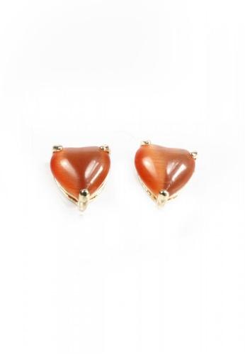 HEY SWEETY multi Sweety Heart Earrings HE303AC0IZSBPH_1