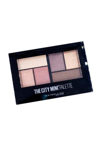 Maybelline pink Maybelline Mini Palette Chill Brunch Neutrals Eyeshadow 39588BEBD69BB5GS_1