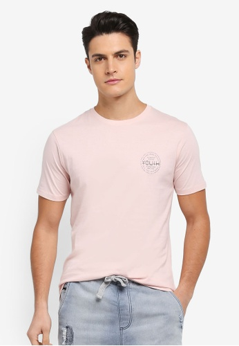 Factorie pink Tagged Tee B00CAAA86B4C95GS_1