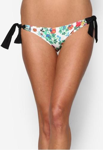 Piha multi Flower Festival Tie Side Brazilian Bikini Bottom PI734US25ERMMY_1
