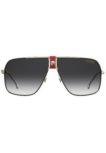 Carrera gold 1018/S Sunglasses 57775GLE75B65CGS_1