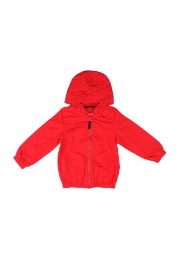 LC Waikiki red Zip-Down Short Coat 326F5KA3733CBBGS_1