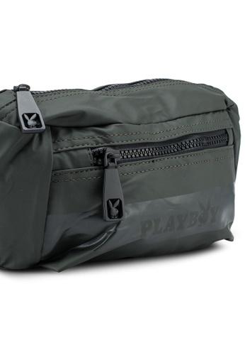 Playboy green Waist Bag 0CCE9ACD231518GS_1