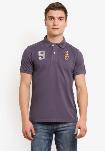 MILANO 灰色 Embroidered Polo Shirt MI248AA0S1N6MY_1