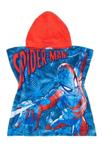 Marvel Boys Spiderman Spider Man Flip Flops Sandals Shoes Red Blue 13 1 2 3 NEW