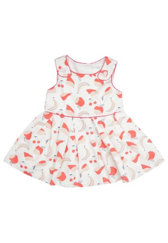 Gingersnaps multi Gingersnaps Fruit Frenzy Dress White/Multicolor 33F40KABDB39E9GS_1