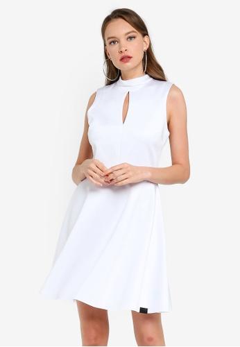 Guess white Endora Dress 1196BAABD77DF0GS_1