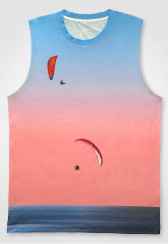 BWET Swimwear 多色 Beach Tank Top Paragliders by BWET Swimwear 20471AAEC6D062GS_1