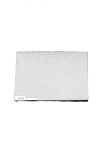 LOVENGIFTS grey LOVENGIFTS Super Thin Bifold Wallet For Men (Light Grey) LO429AC59XEUMY_1