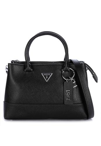 Guess black Cordelia Luxury Satchel Bag 6A623ACD7FB8C4GS_1