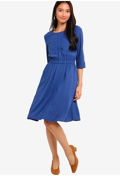 532639a9a94 20% OFF ZALORA 3 4 Sleeves Pocket Dress S  34.90 NOW S  27.90 Sizes XS S M  L XL
