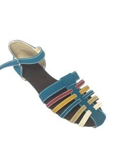 Straps Peep-toe Sandals
