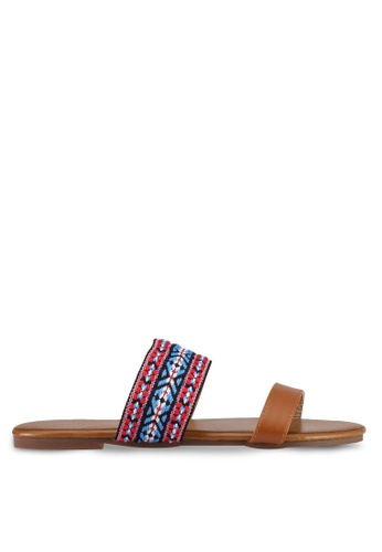 Mimosa brown Tribal Sandals 5C4A1SHFCDD3AAGS_1