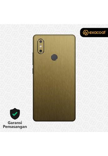 Exacoat Xiaomi Mi Mix 2s 3M Skins Titanium Gold - Cut Only ADB5CES6B39632GS_1