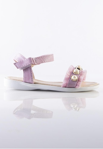 Stilaré pink Kids Bella Pink Pearl Sandals 17660KS4412D76GS_1