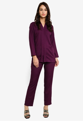 Marina Suit from SOPHIA RANIA in Purple