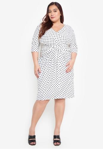 Shop Daria Miss Kate Plus Size Dress Online On Zalora Philippines