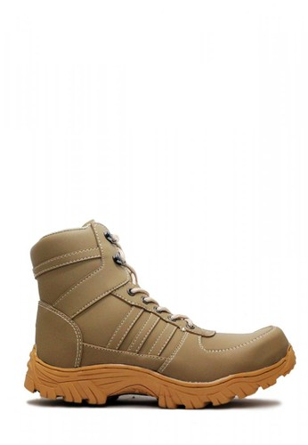 Cut Engineer grey Cut Engineer Safety Boots Carbon Apple Iron Leather Gray C78F4SH663352DGS_1