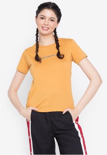 Artwork yellow Be Rich T-Shirt ABBF1AA4C6477DGS_1