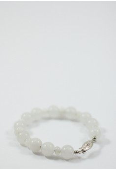 Adularia Jade and Moonstone Bracelet