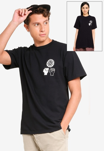 OBEY black Peace Justice Equality Tee 68D01AA2DD0A6DGS_1