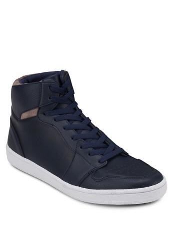 異材質拼接esprit retail高筒鞋, 鞋, 休閒鞋