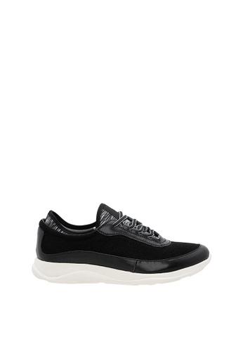 SEMBONIA black SEMBONIA Men Microfiber & Fabric Sneaker (Black) EEB32SHB15F5EEGS_1
