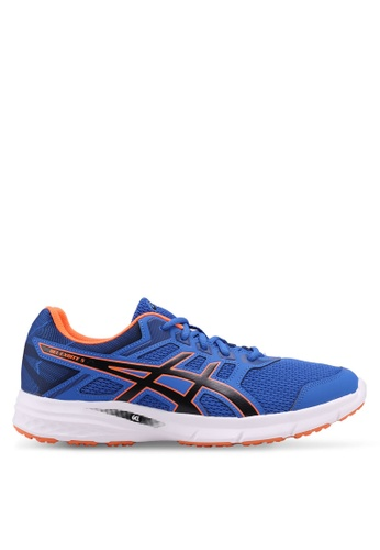 Asics blue Gel-Excite 5 Shoes AS989SH0SVS4MY_1