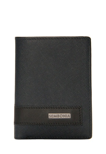 SEMBONIA black SEMBONIA Men Genuine Leather Card Holder (Black) AB1FAACAE284DCGS_1