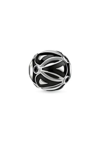 THOMAS SABO silver Karma Bead Ethno Black DFFA9AC4CAB33BGS_1