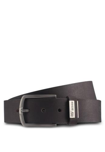 RAV Design brown 40MM Leather Belt A9055AC91B3393GS_1