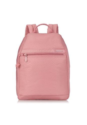 Hedgren pink Hedgren Women Vogue L Backpack Large RFID Powder Pink - 8.03L FACE7AC32A7DA4GS_1