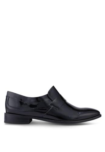 ACUTO black Leather Loafers 7FF17SH7BEFC1CGS_1